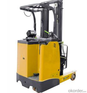 Electric Forklift Used in Warehouse