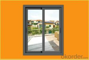 Aluminum/Aluminium PVC Sliding Glass Window and Door