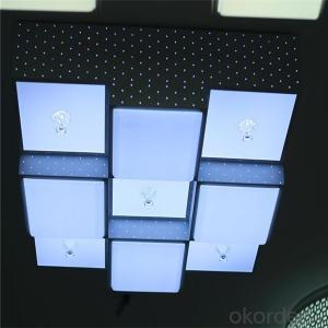 Rechargeable Led Lights Square Round Profile Surface Mounted 8w 12w 15w Panel