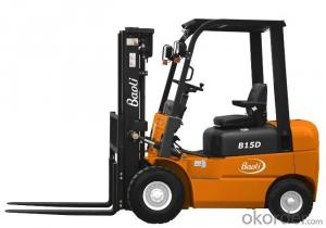 Diesel Forklift Truck 5tons Logistics Lifting Equipment