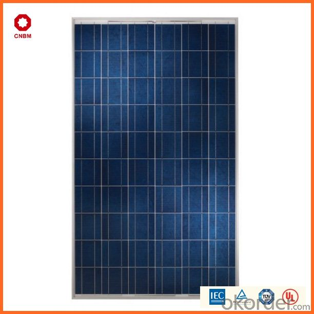 China Manufacture 185w-295w Poly Solar Panel from CNBM
