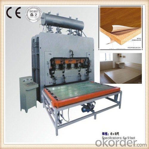 Wood Panel Press Machine for Furniture Making