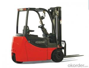 Battery Four Wheel Forklift FE3D20AC New Model