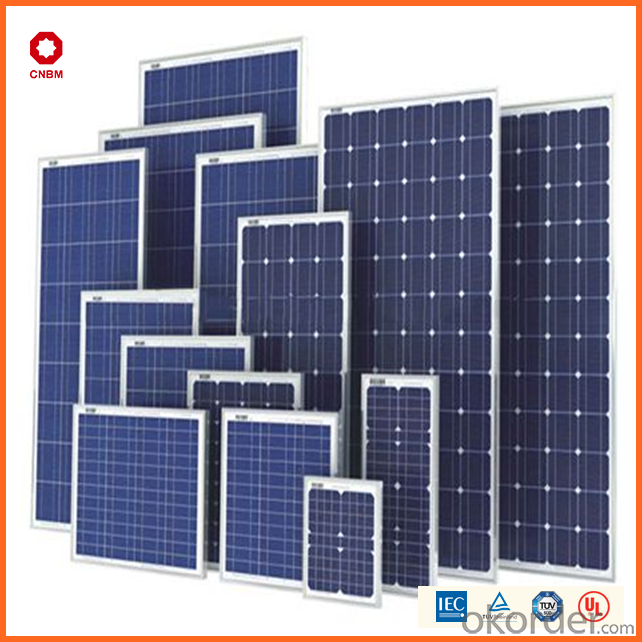 High Efficiency Mono Solar Panel Made in China