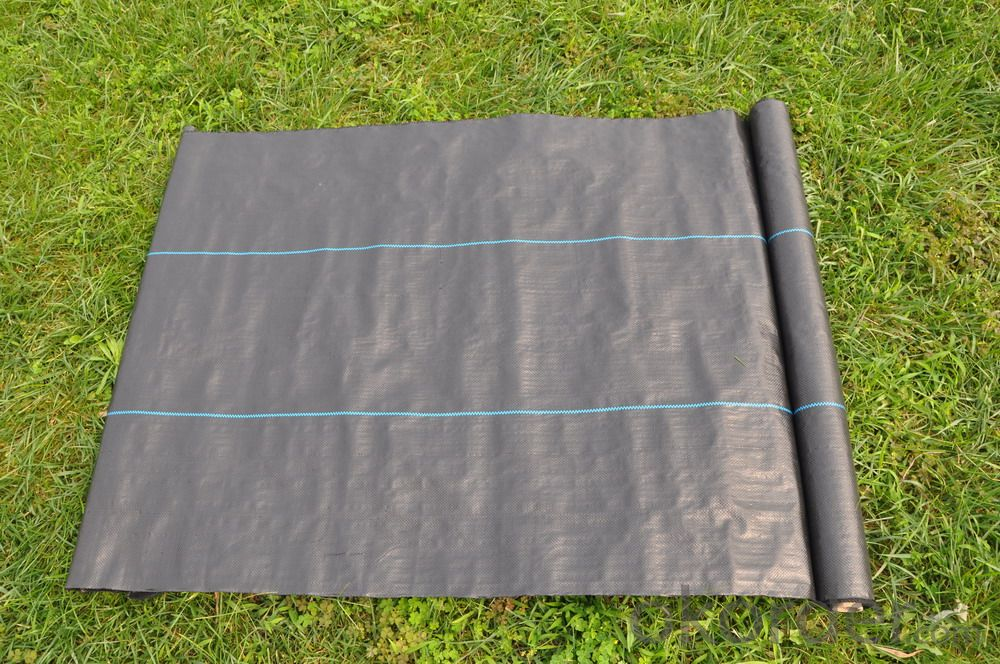 Rrecycled Material PP Woven Weed Control Mat, PP Woven Weed Barrier Fabric