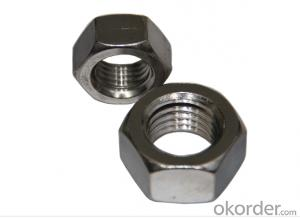 Stainless Steel / Brass Nut, lock nuts, hexagonal nut made in China