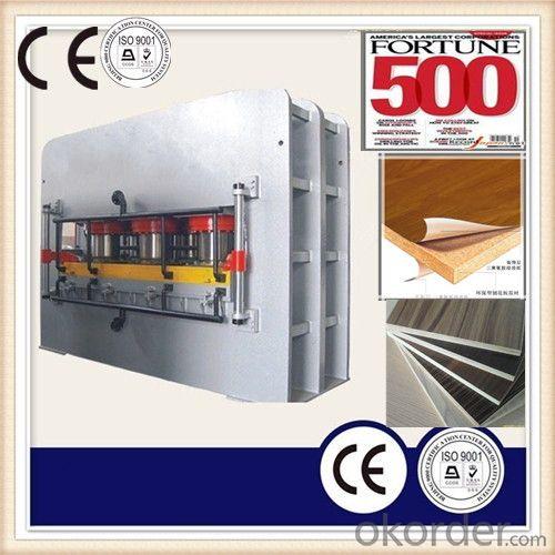 1200T Furniture Board Melamine Hot Press Machine