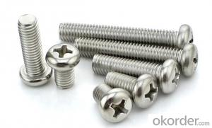 M4X25 White Zinc Plated Phillips Pan Head Self Tapping Screw