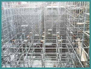 Plastic Scaffold System Formwork Steel Props