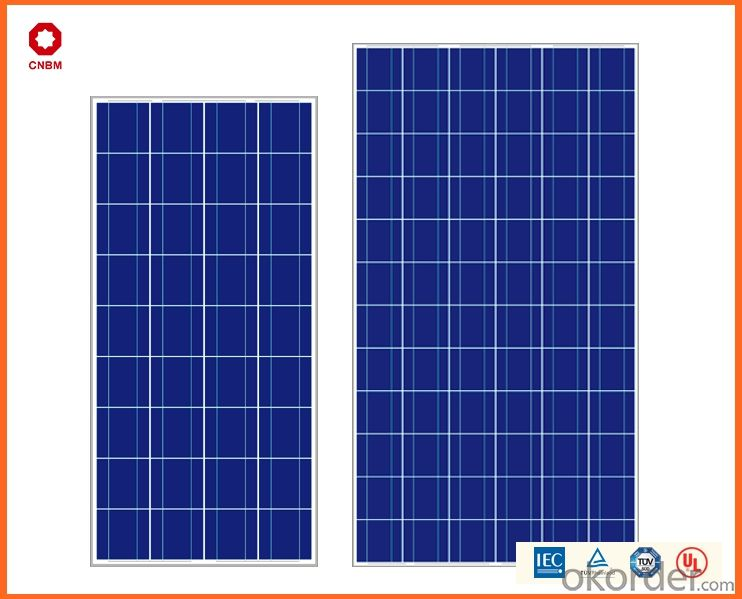 260W ,Poly Solar Panels with CE,TUV,UL,ETL Certificates with Good Quality