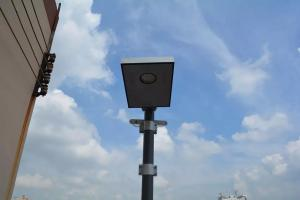 12W all in one  integrated solar LED street light