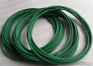 Green PU Polyurethane Round Belt 8mm Diameter For Industrial Transmission