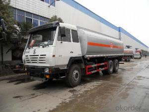 Fuel Tank Truck 45m3 Aluminum Fuel Water 6X6