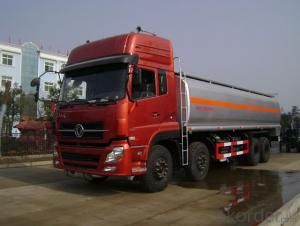 Fuel Tank Truck 8X4 Alloy for Diesel Oil Delivery