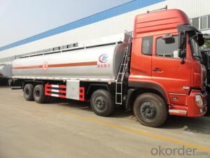 Fuel Tank Truck for Sale 350HP 8X4 25000L