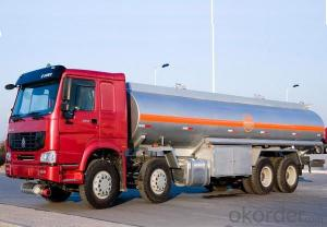 Fuel Tank Truck  6X4 Trailer Heavy Duty Truck