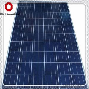 Polycrystalline Solar Panel 280W Made in China with Full Certificate