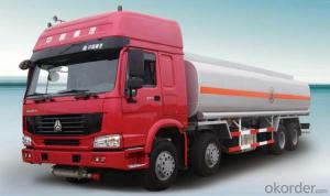 Tank Truck 6X4 Fuel Transport  for Full Trailer