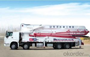 Concrete Pump Truck 21m Working Range