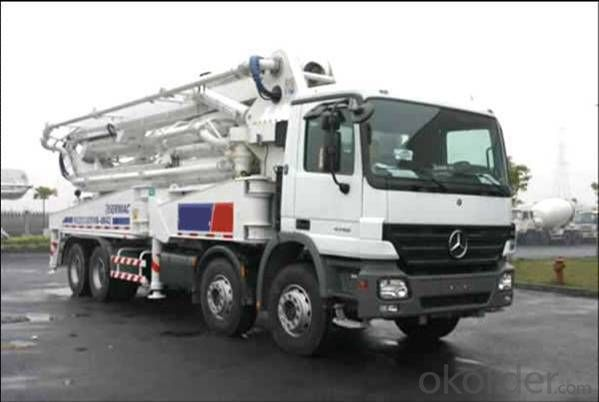 Buy Concrete Pump Truck 5r47m Portable Truck Mounted Price Size Weight