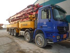 Concrete Pump Trucks Hjc5320thb  Range  Boom Pump
