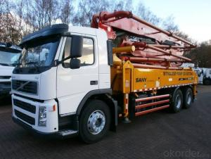Concrete Pump Truck 15cbm Truck Mounted