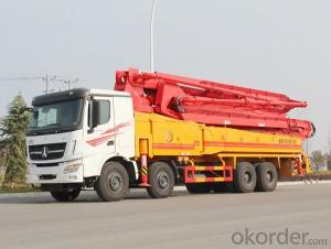 Concrete Pump Truck 6X4 Heavy Duty (TP37R4U)