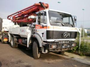 Concrete Pump 24m Boom Mobile Truck Mounted