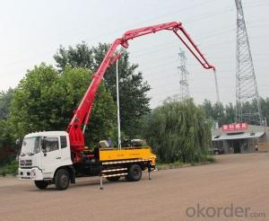 Concrete Boom Pump  47m Truck-Mounted