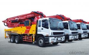 Concrete Pump Truck  8*4 49m Cement