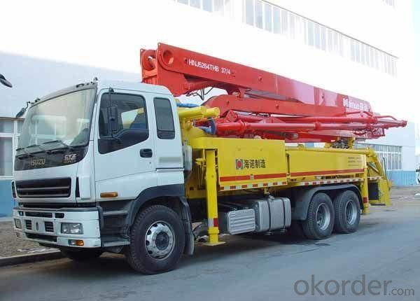 Concrete Mixer Pump Truck Hb37A for Sale