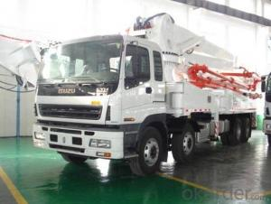 Concrete Boom Pump Truck-Mounted  45m (43X-5RZ)