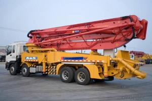 Truck-Mounted Concrete Pump Truck (HB37A)