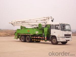 Concrete Pump Truck  8X4 12wheel  4boom