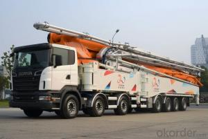 Concrete Pump Diesel Engine 181kw  Truck