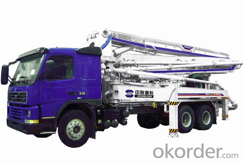 Concrete Pump Truck-Mounted  with Boom (24m)