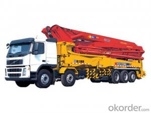 Concrete Boom Pump  45m Truck-Mounted