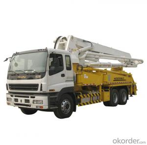 Concrete Delivery Pump 47m Truck-Mounted  (HZZ5381THB)