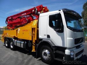 Concrete Pump Truck 80km/H 37m in German
