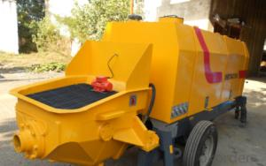 Concrete Pump Trailer Pump Electric Motor HBTS50
