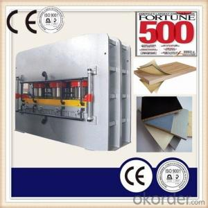 Short Cycle Lamination Hot Press Produced line