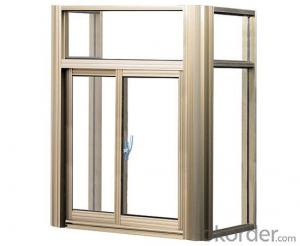 Pvc Sliding window and door with double glass