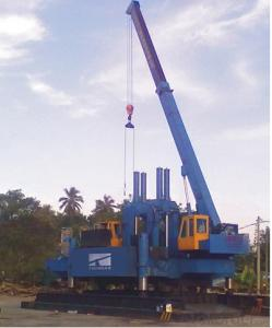 ZYC60 Used Pile Driver Hydraulic Static Pile Driver for Sale