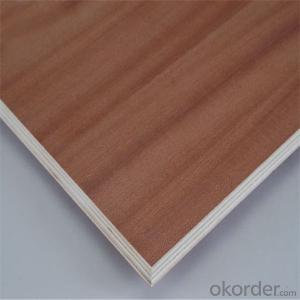 1220X2440mm Okoume,Bintangor Faced Plywood Sheets, poplar core Commercial Plywood