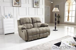 Recliner Massage Sofa with Genuine Leather
