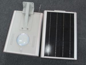12W Solar garden light Solar energy integrated street lamp solar street lamp Solar LED street lamp