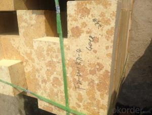 Refractory Silica Brick for Hot-Blast Stoves S-96
