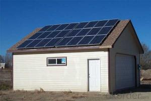 Off-Grid Solar Power System 1.5KW High Efficiency