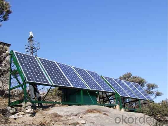 Off-Grid Solar Power System 10KW High Efficiency