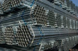 Welded Black ERW Steel Pipe Water Pipe Oil Pipe